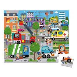 Puzzle City 36 pcs JANOD