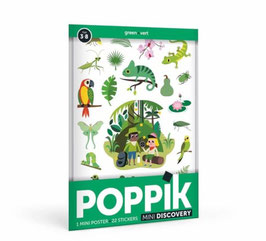Mini poster 2 couleurs au choix POPPIK