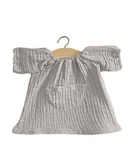 Robe Jeanne Gris perle