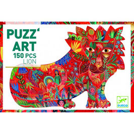 Puzz'art Lion 150 pièces +6 ans DJECO
