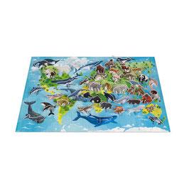 Puzzle Educatif Les Espèces prioritaires 350 PCS JANOD / WWF