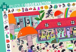 Puzzle L'école des hérissons 35 pcs +3 ans DJECO