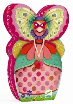 Puzzle La demoiselle papillon 36 pcs +4ans DJECO