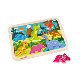 Puzzle Chunky Dinosaures JANOD