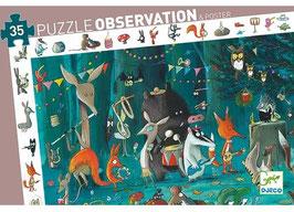 Puzzle L'Orchestre 35 pcs +3 ans DJECO