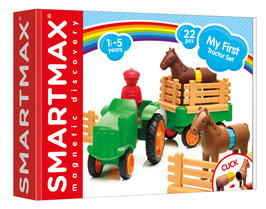 Jeu magnétique My First Tractor Set SMARTMAX