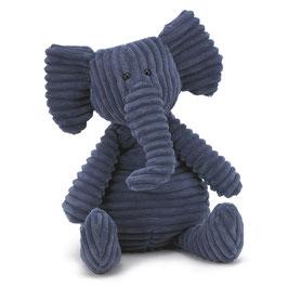 Peluche cordy Elephant bleu JELLYCAT