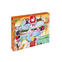 Puzzle Tactile Géant Le Zoo JANOD