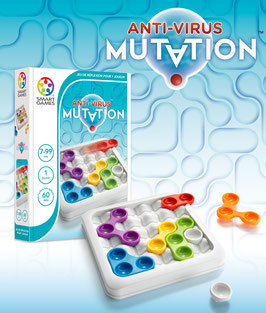 Anti-virus Mutation 7 ans + SMART GAMES