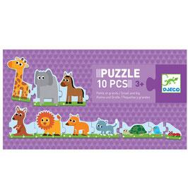Puzzle Petits et Grands +3 ans DJECO