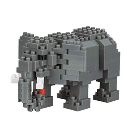 Elephant d'Afrique NANOBLOCK