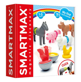Jeu magnétique My First Farm Animals SMARTMAX