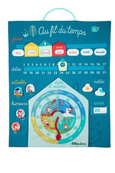 Nouveau calendrier Au fil du temps LILLIPUTIENS