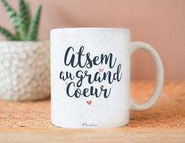 """Mug """"Atsem au grand coeur"""""""