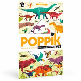 Poster + stickers Les Dinosaures 5/12 ans POPPIK