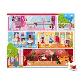 Puzzle Danse Académie 100 pcs JANOD