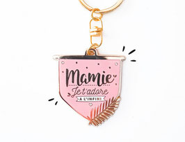 "Porte-clés ""Mamie Je t'adore à l'infini"" MANAHIA"