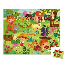 Puzzle Potager 36 pcs JANOD