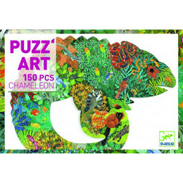 Puzz'art Caméléon 150 pièces +6 ans DJECO