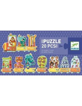 Puzzle Je Compte +3 ans DJECO