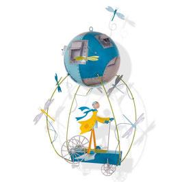 Mobile Schlumpeters L'enfant et L'avion L'OISEAU BATEAU