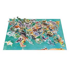 Puzzle Les Dinosaures 200pcs JANOD