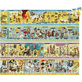 Frise historique 4 Puzzles +7 ans VILAC