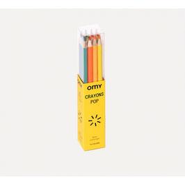12 crayons de couleurs OMY