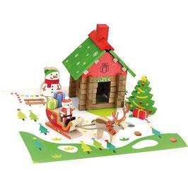 Maison du Père Noël 50 pièces JEUJURA