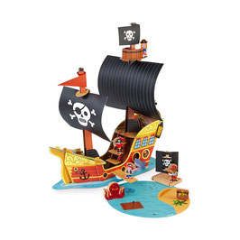 Bateau Pirates Story JANOD