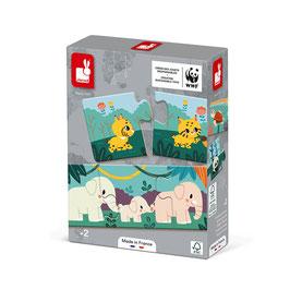 Puzzle Animaux JANOD / WWF
