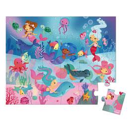 Puzzle Sirènes 24 pièces JANOD