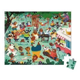 Puzzle La Cousinade des Ours 54 pcs JANOD