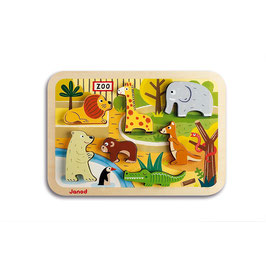 Puzzle Chunky Zoo JANOD