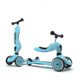 Trottinette 2 en 1 Blueberry SCOOT AND RIDE