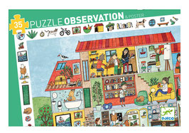 Puzzle La Maison 35 pcs +3ans DJECO