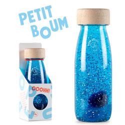 Bouteille sensorielle bleue PETIT BOUM