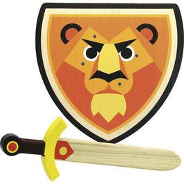 Set bouclier + épée Lion VILAC