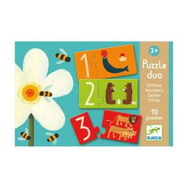 Puzzle Duo Chiffres +3 ans DJECO
