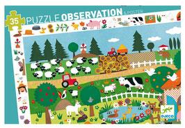 Puzzle La Ferme 35 pcs +3 ans DJECO