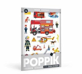 Mini poster Les Pompiers POPPIK