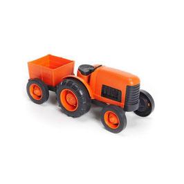 Tracteur orange GREEN TOYS