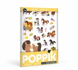 Mini poster Le Poney Club POPPIK