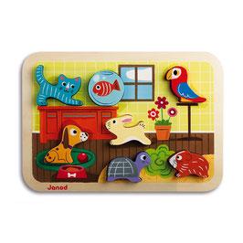 Puzzle Chunky Animo' JANOD
