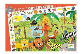 Puzzle La Jungle 35 pcs +3ans DJECO