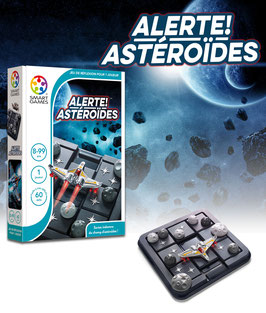Alerte ! Astéroïdes 8/99 ans SMART GAMES