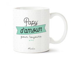 Mug Papy d'amour pour toujours MANAHIA