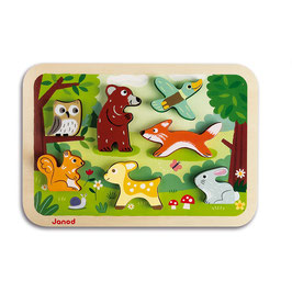 Puzzle Chunky Forêt JANOD