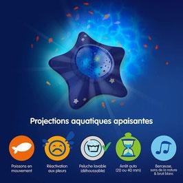 Veilleuse peluche étoile projecteur océan PABOBO