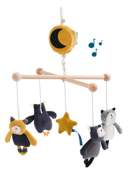 Mobile musical Les Moustaches MOULIN ROTY